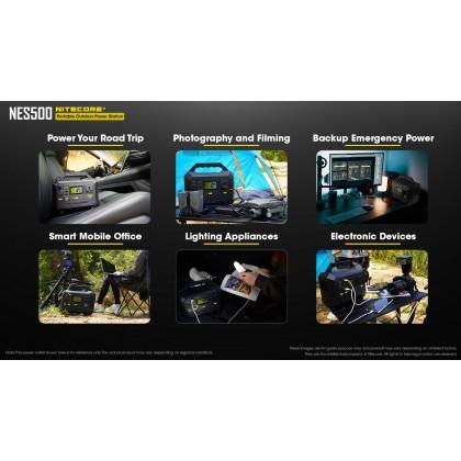 Nitecore NES 500 Portable Power Supply 518Wh