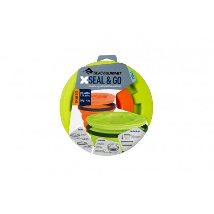 Sea to Summit Collapsible X-seal & Go Set Small (2 in 1)