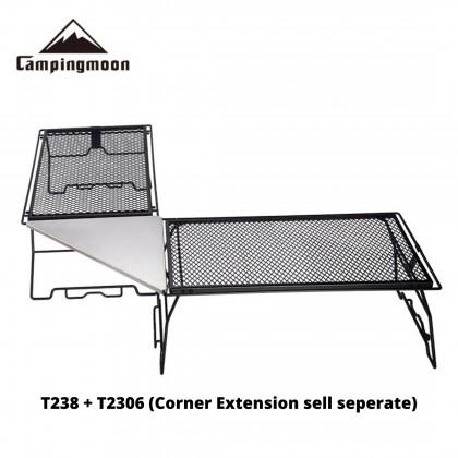 Campingmoon T238 Stackable Steel Mesh Table